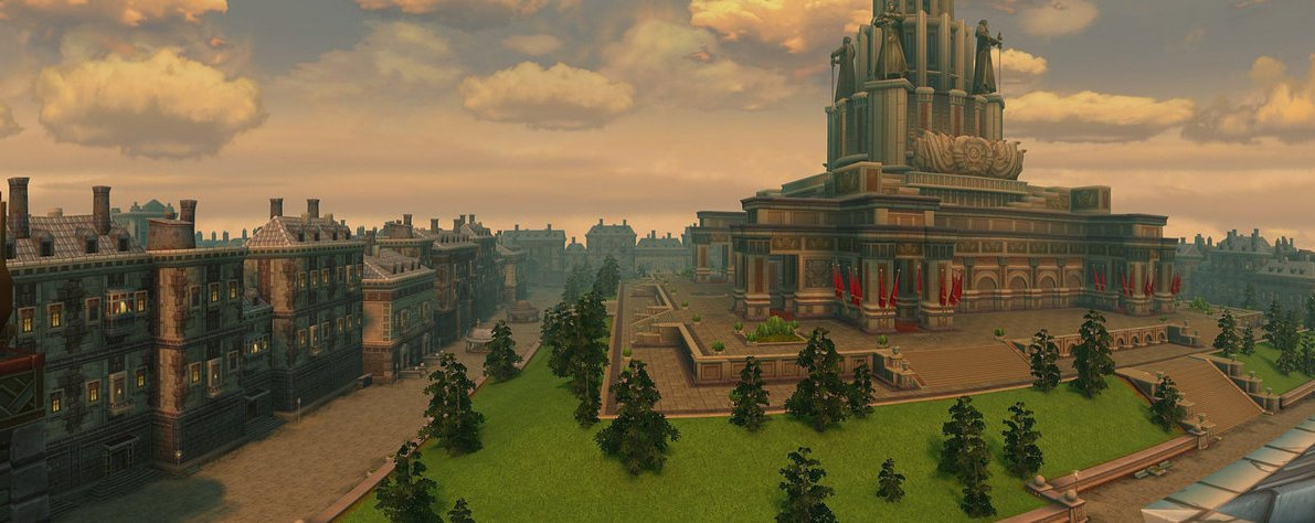 Allods Online — столица империи Незебград.