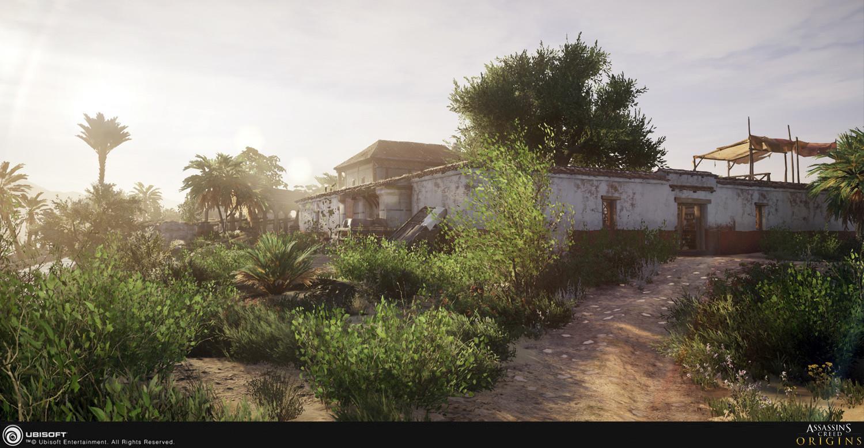 Создание мира Assassin's Creed Origins