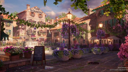 Unreal Engine 4 Italian Village