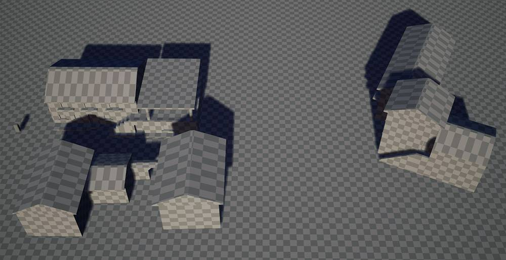 Создание итальянской деревни в Unreal Engine 4